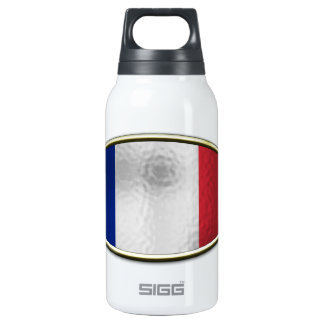 Ichthus - French Flag Insulated Water Bottle