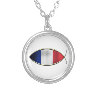 Ichthus - French Flag Necklaces