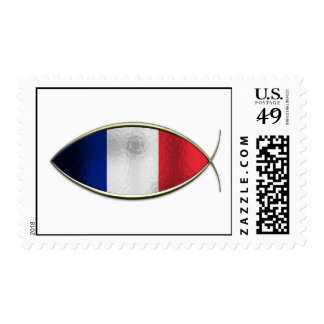 Ichthus - French Flag Postage