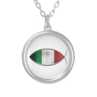 Ichthus - Italian Flag Jewelry