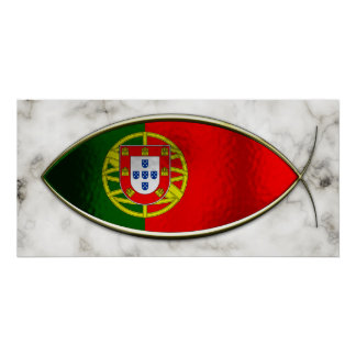 Ichthus - Portugese Flag Poster