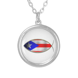 Ichthus - Puerto Rican Flag Jewelry
