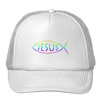 Ichthus - símbolo cristiano de los pescados gorras de camionero