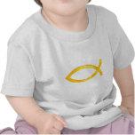 Ichthus - símbolo cristiano de los pescados camisetas