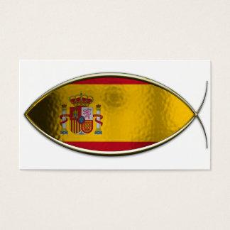 Ichthus - Spanish Flag Business Card