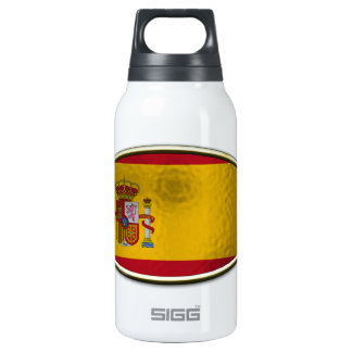 Ichthus - Spanish Flag Insulated Water Bottle