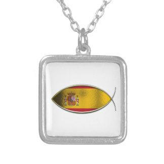 Ichthus - Spanish Flag Necklaces