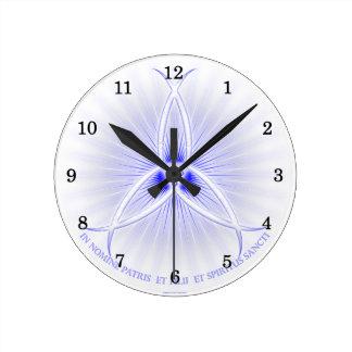 Ichthus Trinity Round Clock