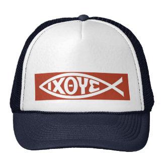 Ichthys (Christian Fish Symbol) Trucker Hat
