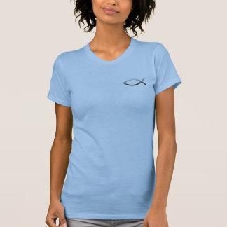 Ichthys Jesus Fish Christian Symbol T-Shirt