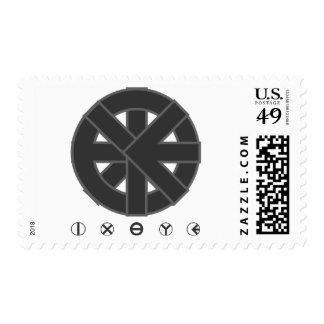Ichthys Wheel Postage