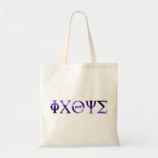 ICHTYS Grec 1 Violet Tote Bags