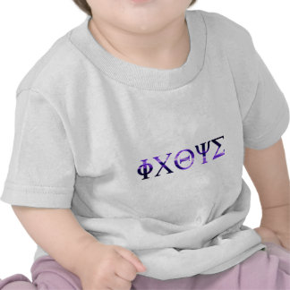 ICHTYS Grec 1 Violet Tshirts