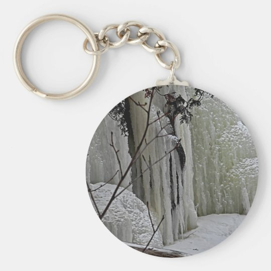 Icicle Falls Keychain