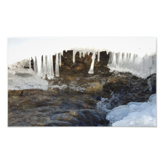 Icicle Formation Photo Art