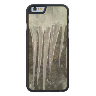 icicle photo carved® maple iPhone 6 case