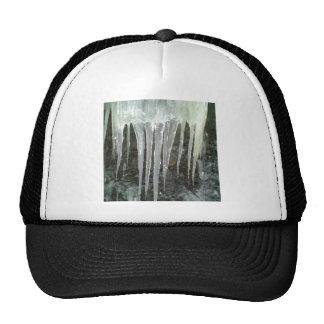 Icicle photo trucker hats