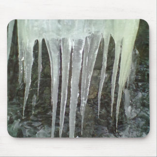 Icicle photo mouse pad