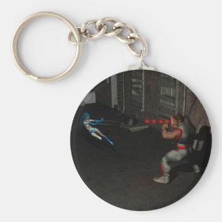 Icicle vs Shiner Keychain