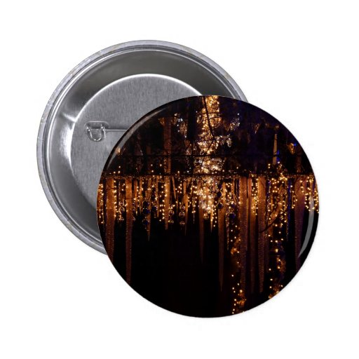 Icicles 2 Inch Round Button