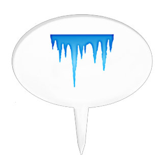 Icicles Cake Topper