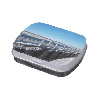 Icicles Candy Tin