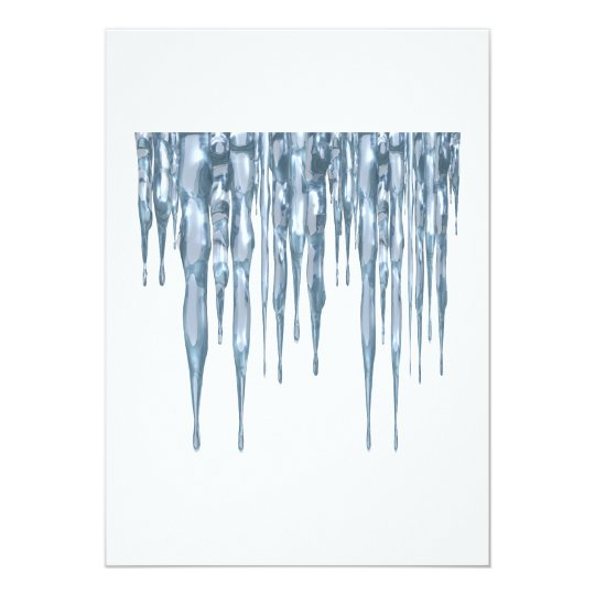 Icicles Card