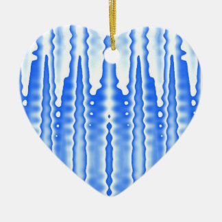 Icicles Ceramic Ornament