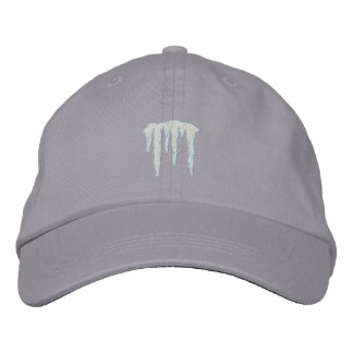 Icicles Embroidered Hats