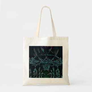 Icicles Fractal Tote Bag