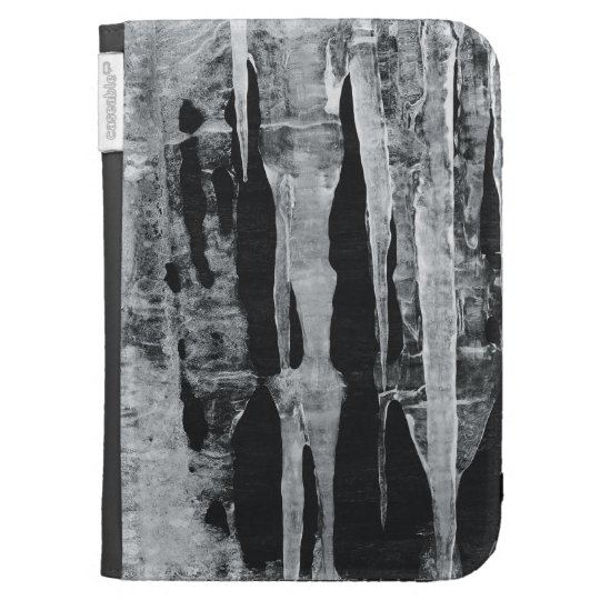 Icicles Kindle Cases