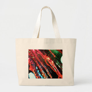 Icicles Large Tote Bag