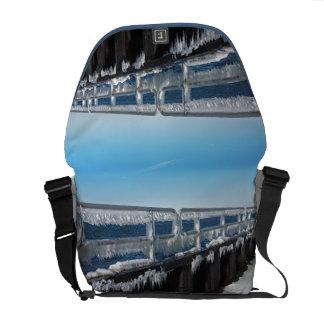 Icicles Messenger Bag