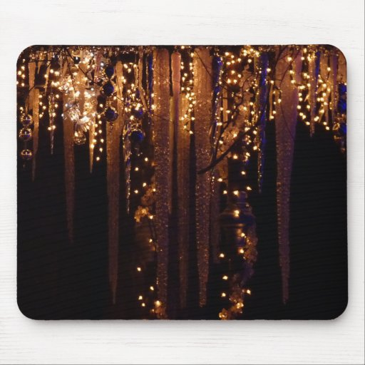 Icicles Mouse Pad