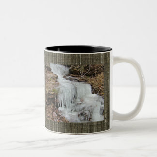 Icicles on Dietz Mill Road Coordinating Items Two-Tone Coffee Mug