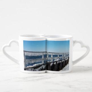 Icicles Couple Mugs