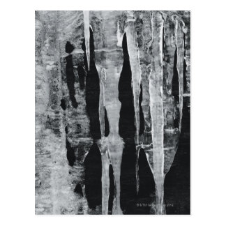 Icicles Post Card