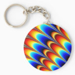 Icing - Fractal Art Keychain
