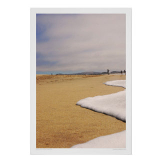 Icing on the Beach Print