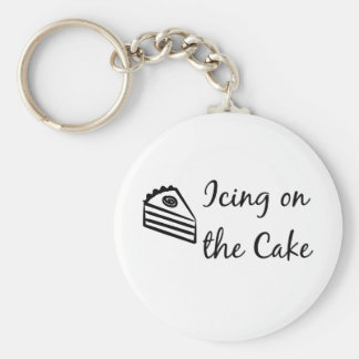Icing on the Cake Keychain