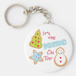 Icing On Top Keychain