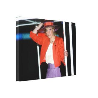 ¡Icinic! Princesa Diana de HRH Impresion En Lona