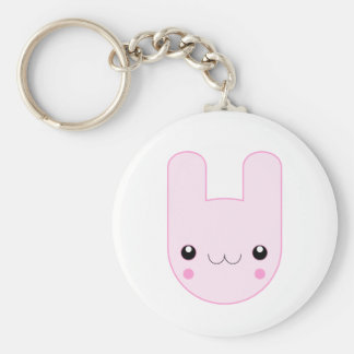 Ickle Pink Bunny Keychain