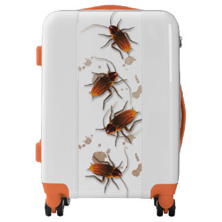 "Icky Sticky Rambling Roaches ""Hands off"" my Luggage"