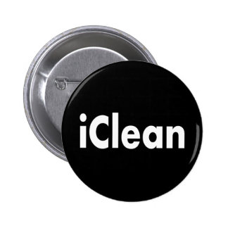 iClean Pinback Buttons
