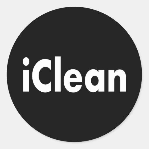 iClean Sticker