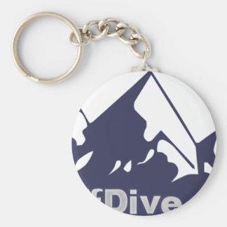 iCliffDive Swag Basic Round Button Keychain