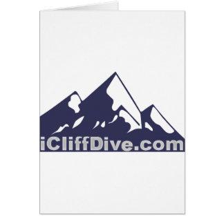 iCliffDive Swag Greeting Card