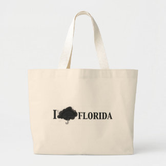 icloudFlorida.jpg Large Tote Bag