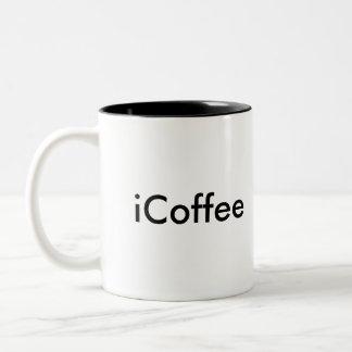 iCoffee Two-Tone Coffee Mug